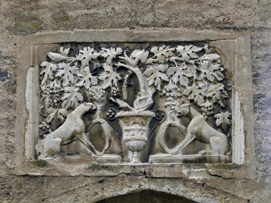 Detail of Roman Relief with Vines and Panthers--Giclee Print