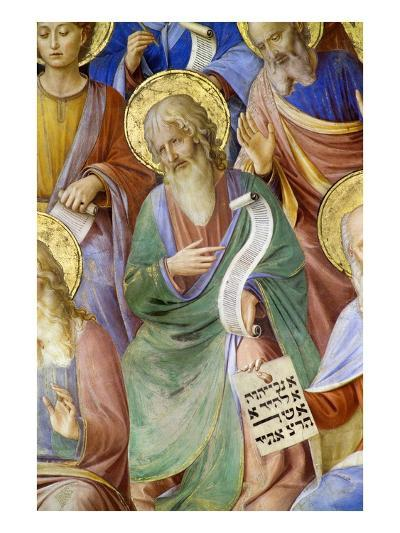 Detail of Saint John the Baptist and Prophets-Fra Angelico-Giclee Print