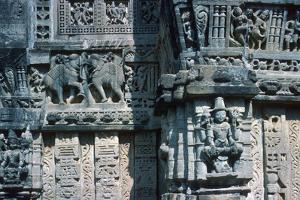 Detail of Sculpture, the Temple of Mira Bai