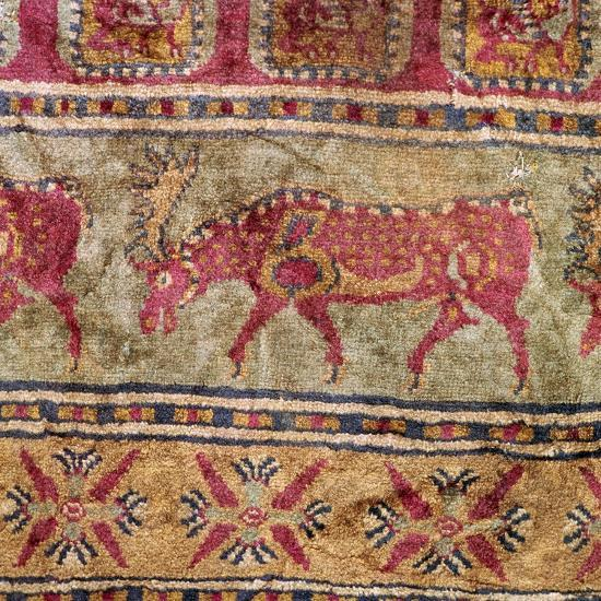 Detail of Scythian pile carpet, 5th century BC. Artist: Unknown-Unknown-Giclee Print