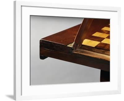 Detail of Shelf, Louis XVI Style Combination Table, France--Framed Giclee Print