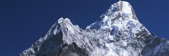 Detail of Snow-Covered Peaks of Ama Dablam-Jeff Foott-Photographic Print