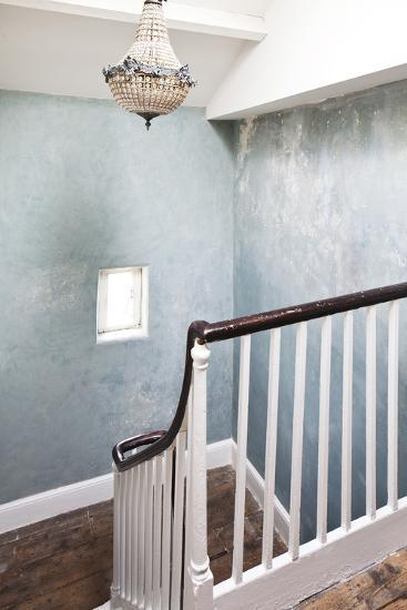 Detail of Staircase in Boutique Bed and Breakfast, the Reading Rooms, Margate, Kent-Joel Knight-Photo