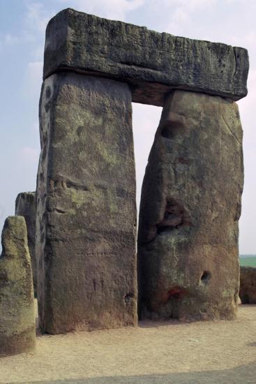 Detail of Stonehenge, c.3000-2000 BC Artist: Unknown-Unknown-Giclee Print