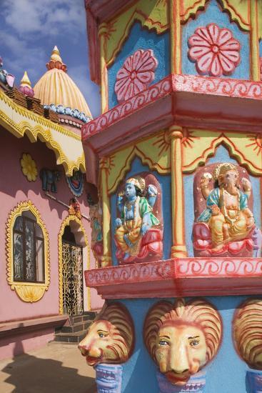 Detail of Temple near Anjuna Beach-Jon Hicks-Photographic Print