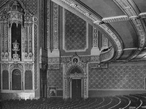 Detail of the auditorium, Granada Theatre, San Francisco, California, 1922