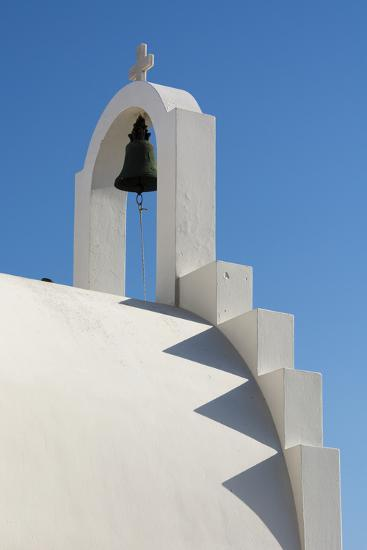 Detail of the Bell Atop a Small Chapel-Sergio Pitamitz-Photographic Print