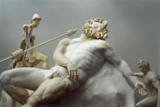 Detail of the Blinding of Polyphemus, Roman Copy after an Hellenistic Statuary Group--Giclee Print