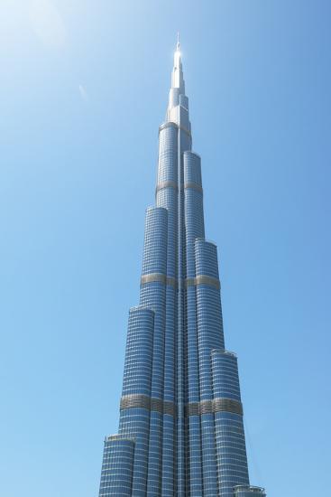 Detail of the Burj Khalifa; Dubai, United Arab Emirates-Design Pics Inc-Photographic Print