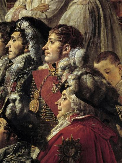 Detail of the Consecration of the Emperor Napoleon I by Jacques Louis David--Giclee Print