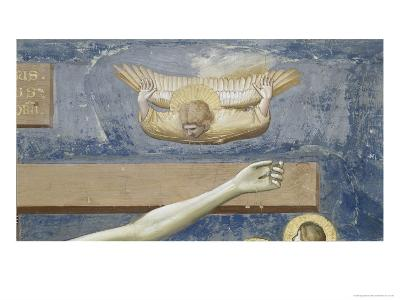 Detail of The Crucifixion-Giotto di Bondone-Giclee Print
