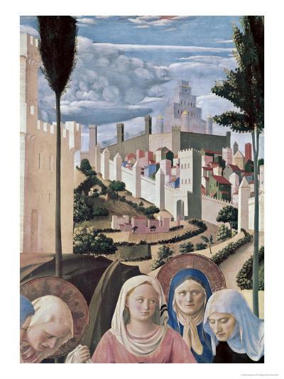 Detail of the Deposition, no.3, c.1438-1445-Fra Angelico-Giclee Print