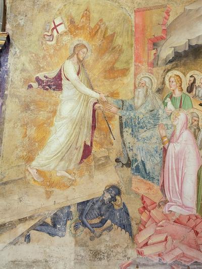 Detail of 'The Descent from the Cross', Capellone Degli Spagnoli, 1365-67-Andrea Di Bonaiuto-Giclee Print