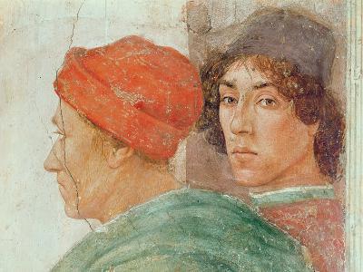 Detail of the Dispute with Simon Mago, C.1484-85 (Detail)-Filippino Lippi-Giclee Print