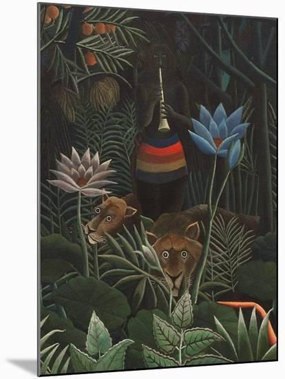 Detail of The Dream, 1910-Henri JF Rousseau-Mounted Giclee Print