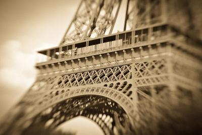 Detail of the Eiffel Tower, Paris, France-Russ Bishop-Photographic Print
