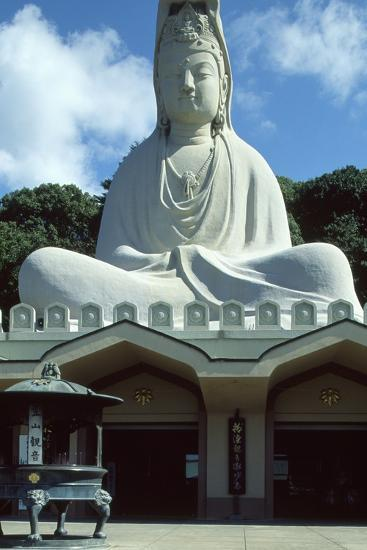 Detail of the Facade of the Ryozen Kannon Buddhist Temple in Kyoto--Photographic Print