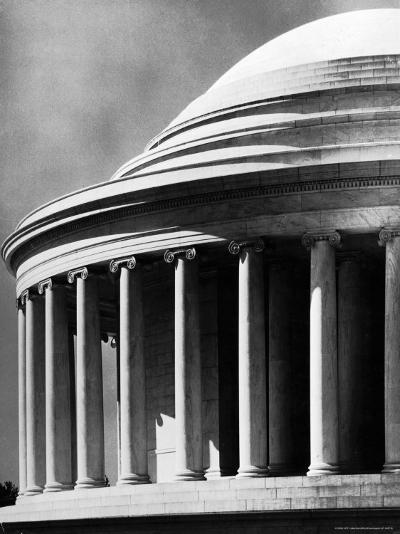 Detail of the Jefferson Memorial-Alfred Eisenstaedt-Photographic Print