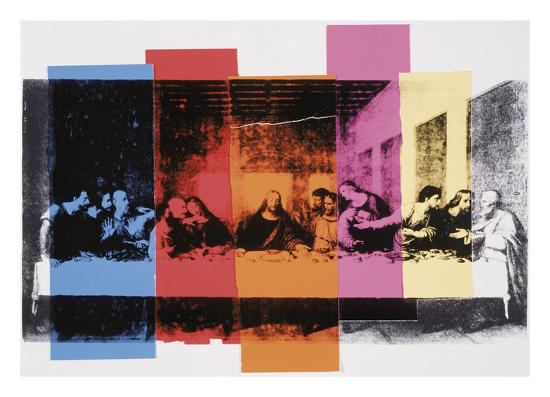Detail of The Last Supper, 1986-Andy Warhol-Art Print
