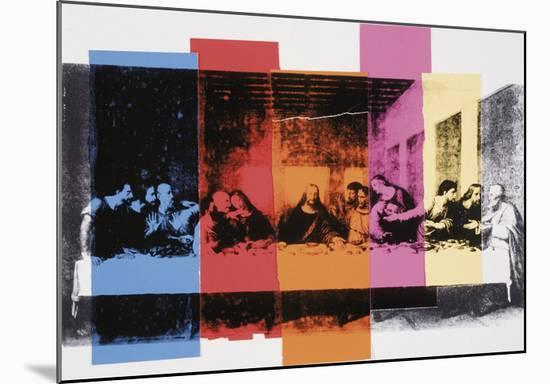 Detail of The Last Supper, 1986-Andy Warhol-Mounted Art Print