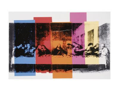 Detail of the Last Supper, c.1986-Andy Warhol-Art Print