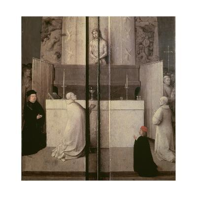 Detail of the Legend of the Mass of St. Gregory-Hieronymus Bosch-Giclee Print