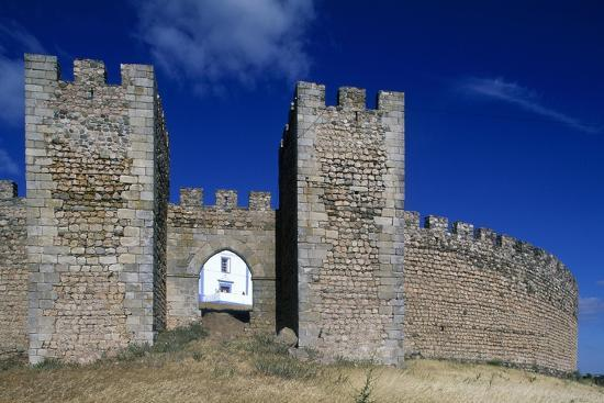 Detail of the Masonry of Arraiolos Castle, 16th Century, Portugal--Giclee Print