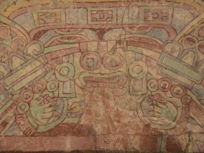 Detail of the Most Famous Fresco at Teotihuacan, Showing the Rain God Tlaloc, Mexico--Photographic Print