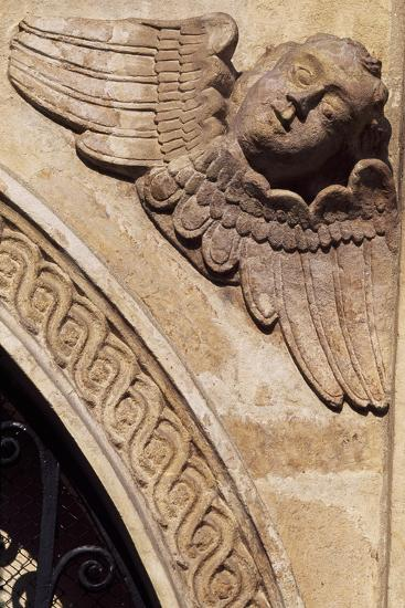Detail of the Ornamentation from the Facade of the Church of St Mary, Krakow--Giclee Print