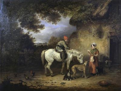 Detail of the Post Boy-Edmund Bristow-Giclee Print