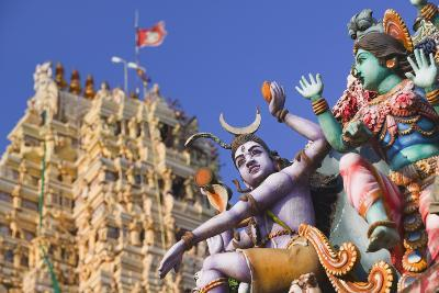 Detail of the Sri Mariamman Temple-Jon Hicks-Photographic Print