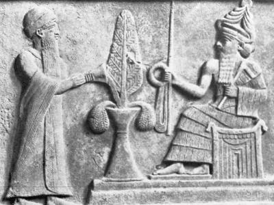 Detail of the Stele of Ur-Nammu--Photographic Print
