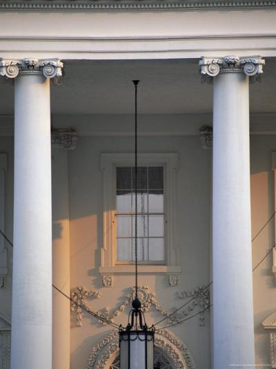 Detail of the White House, Washington D.C., United States of America (U.S.A.), North America-Jonathan Hodson-Photographic Print