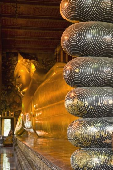 Detail of Toes of Large Reclining Buddha-Design Pics Inc-Photographic Print