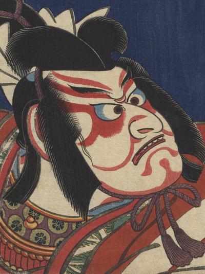 Detail of Two Kabuki Actors-Torii Kiyomitsu II and Toyokuni III-Photographic Print