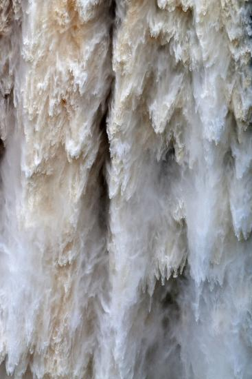 Detail of Water Falling from Kaieteur Falls, Guyana, South America-Mick Baines & Maren Reichelt-Photographic Print
