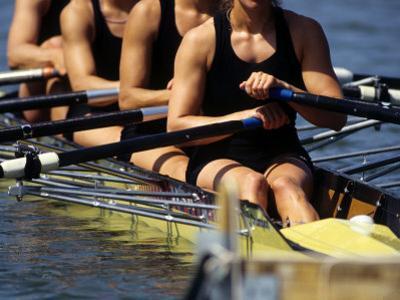Detail of Women's Rowing Team