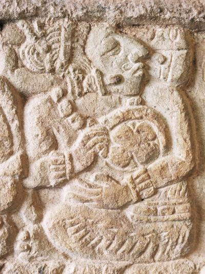 Detail, Structure 9N-82, Copan, Unesco World Heritage Site, Honduras, Central America-Upperhall-Photographic Print