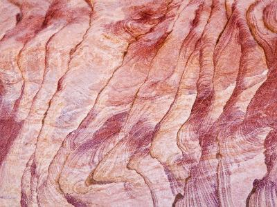 Detail, the Coloured Canyon, Near Nuweiba, Sinai, Egypt, North Africa, Africa-Schlenker Jochen-Photographic Print
