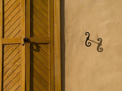 Details of an Adobe House in Santa Fe-Michael S^ Lewis-Photographic Print