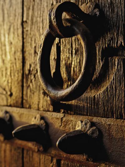 Details of entry gate doorway to Humayun's Tomb, Nizamuddin, India-Adam Jones-Photographic Print
