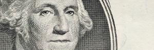 Details of George Washington's Image on the Us Dollar Bill