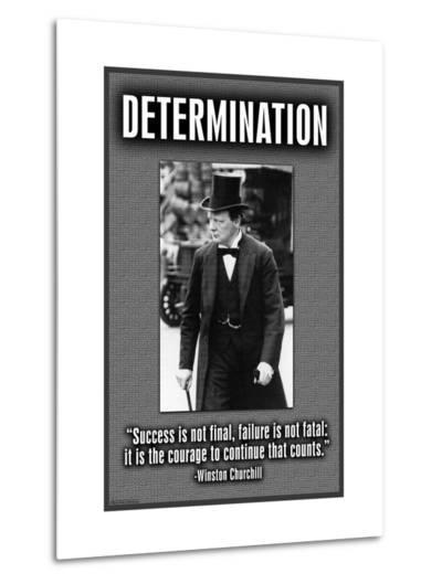 Determination--Metal Print