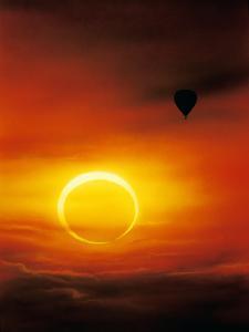 Annular Solar Eclipse by Detlev Van Ravenswaay