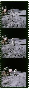 Apollo 16 Astronauts by Detlev Van Ravenswaay