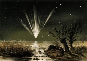 Great Comet of 1861, Artwork by Detlev Van Ravenswaay