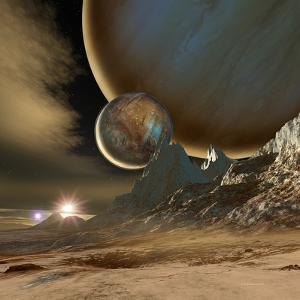 HD 188753 Planetary System by Detlev Van Ravenswaay