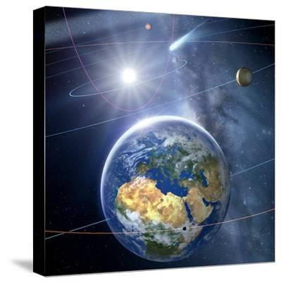 Inner Solar System, Artwork