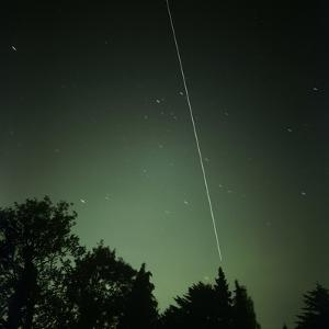ISS Light Trail, Time-exposure Image by Detlev Van Ravenswaay