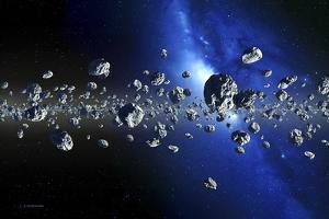 Kuiper Belt Objects by Detlev Van Ravenswaay